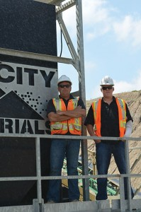 Wes Esbaugh | Operations Manager, Tri City Materials, and Michael Black | Fleet and Purchasing Manager, Tri City Materials.